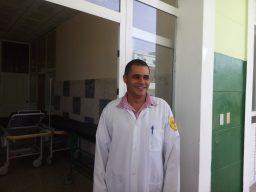 Yunior Luis Pulido Prieto, director del centro.