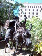 Escultura a Sancho Panza.