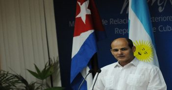 Rogelio Sierra, viceministro de Relaciones Exteriores de Cuba. Foto: PL.