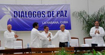 Logran Acuerdo Final para la paz en Colombia