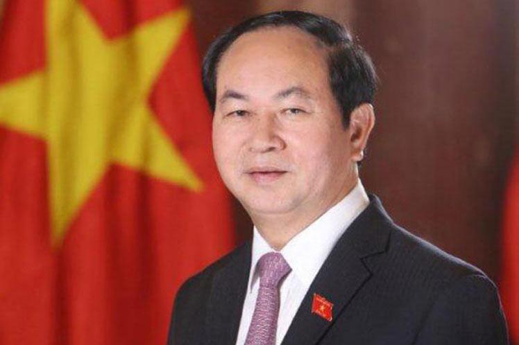 Tran Dai Quang, Presidente de la República Socialista de Vietnam.