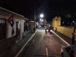 Cenizas de Fidel en Bayamo