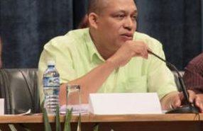 Ismael Drullet Pérez, Secretario General del Sindicato Nacional de Trabajadores de la Educación, la Ciencia y el Deporte