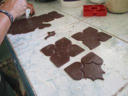 Galleticas de canela y chocolate. Foto: Del autor