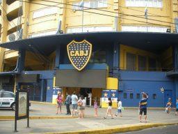 La Bombonera es la cancha del club Boca Juniors. Foto del autor