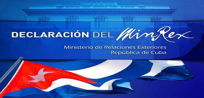 Declaraci N Del Ministerio De Relaciones Exteriores Radio Reloj