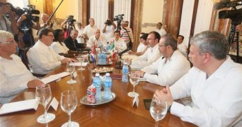 Chancellors of Cuba and Mexico meets in Havana.