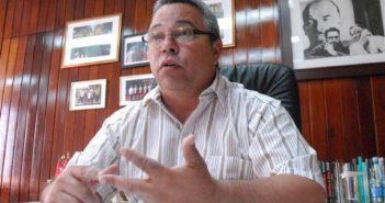 Ulises Guilarte de Nacimiento, secretary general of CTC. (Photo: Agustín Borrego)