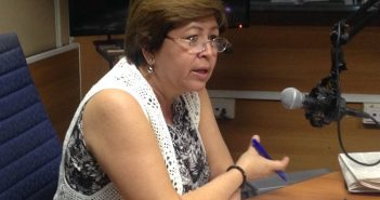 The President of the National Candidacy Commission, Gisela Duarte.