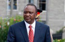 Kenya's head of State, Uhuru Kenyatta.