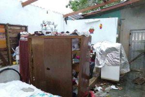 Tornado provoca daños en Jagüey Grande