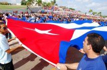 May 1st parade in Havana.