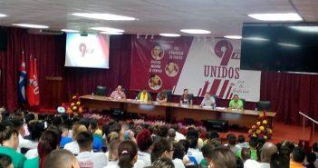 Ninth Congress of the University Student Federation.