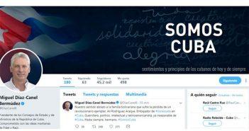 Diaz-Canel regrets death of Venezuelan Ambassador.