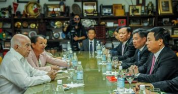 Machado Ventura receives communist delegations from Vietnam and Spain.
