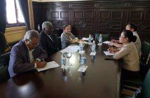 President of Cuban Parliament receives Syrian Ambassador.