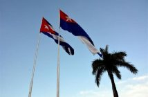 Cuba standing for saying Yes to Constitution and supporting Venezuela.