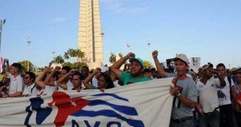 Diaz-Canel ensures strong demonstration of Cuba on May 1.