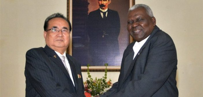 Parliaments of Korea and Cuba Strengthen Relations
