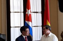 Cuba and Vietnam reaffirm strength of relationships.