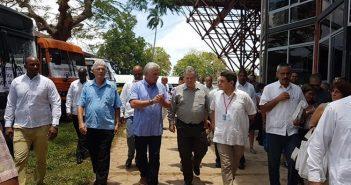 Diaz-Canel Exchanges with Cuban Entrepreneurs.