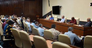 Cuban President Reviews Sugar Harvest.