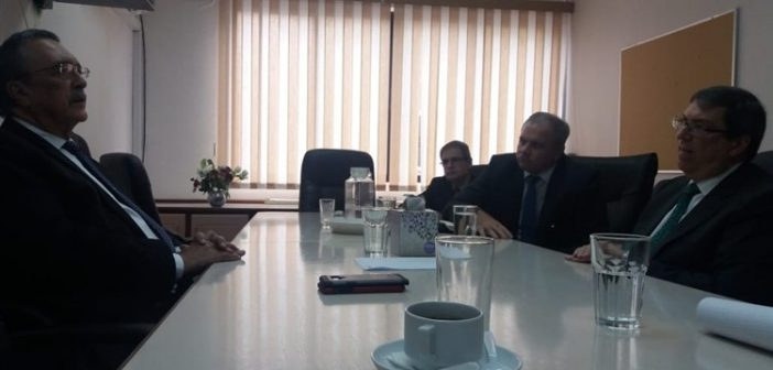 Cuban Chancellor Meets with Labor Party Leaders of Saint Lucia
