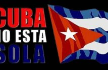 Cuban Chancellor thanks for global support for end of blockade.