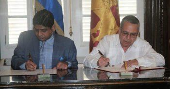 Cuba and Sri Lanka sign memorandum of understanding