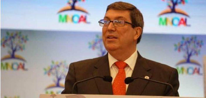 Llama canciller cubano a la unidad de los No Alineados