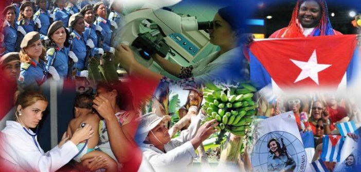 Felicita presidente Díaz-Canel a mujeres cubanas