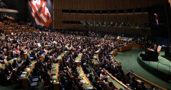 End of blockade, a claim from UN General Assembly