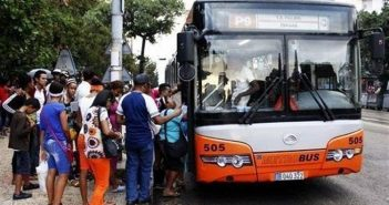 Diaz-Canel evaluated projects to improve passenger transport.