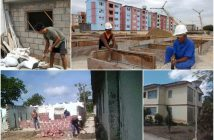 Cuba does not stop house construction