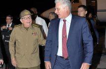 Raúl recibe a Díaz-Canel en La Habana
