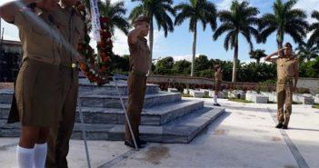Tribute to Camilo Cienfuegos and his guerrillas
