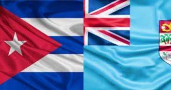 President of Cuba Receives Fiji Premier