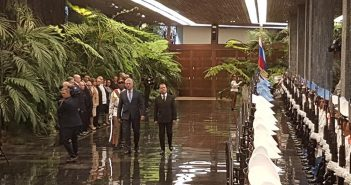 Cuban President Receives Russian Prime Minister