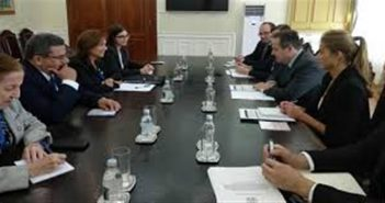 Chancellor of Serbia receives Vice-President of Cuban Parliament