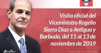 Governor of Antigua and Barbuda Receives Cuban Vice-Chancellor