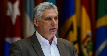 Cuban President reiterates rejection of coup in Bolivia