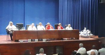 At FIHAV Forum for Economic Development of Cuba.