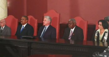 Cuban President participates in inauguration of Legal Year.