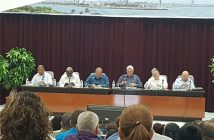 President of Cuba participates in the annual analysis of Ministry of Economy