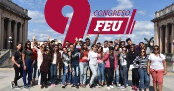 President of Cuba checks agreements of Congress of FEU