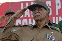 President of Cuba remembers Revolution Commander Juan Almeida