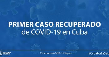 Cuba reports first case recovered from Covid-19