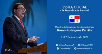 Chancellors of Cuba and Panama will hold talks