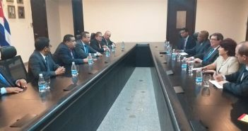 Cuban Chancellor Starts Visit to Panama