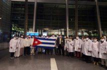 Cuban medical brigade arrived in Qatar to fight Covid-19